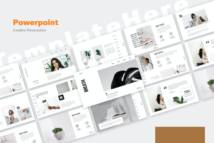 Thumbnail for Breath Powerpoint Template