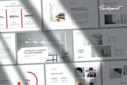 Liong - Elegant Minimal Powerpoint Template