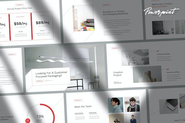 Thumbnail for Liong - Elegant Minimal Powerpoint Template