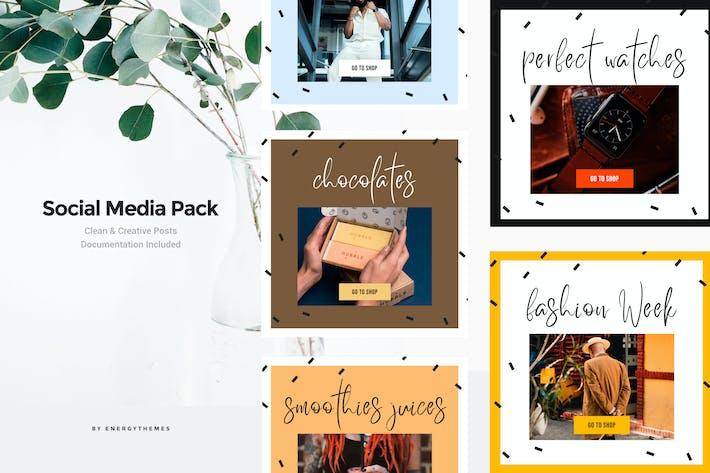 Thumbnail for Social Media Banners - Vol 71
