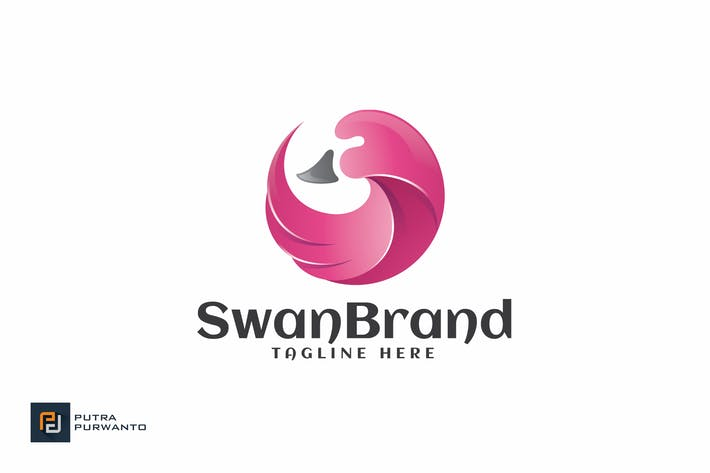 Thumbnail for Swan Brand - Logo Template