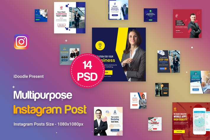 Thumbnail for Instagram Multipurpose, Business Posts