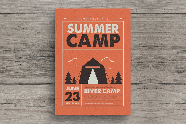 Thumbnail for Indie Summer Camp Flyer