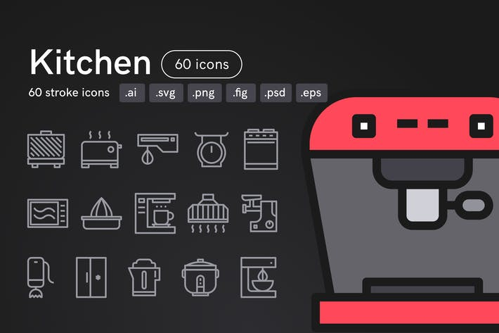 Thumbnail for Kitchen Icons