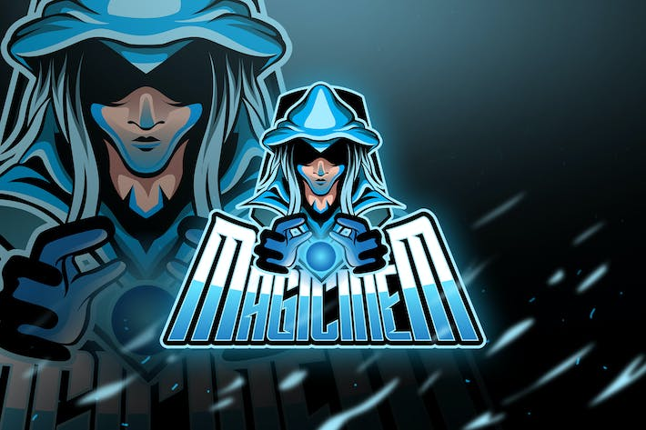 Thumbnail for Magicinem - Mascot & Logo Esport