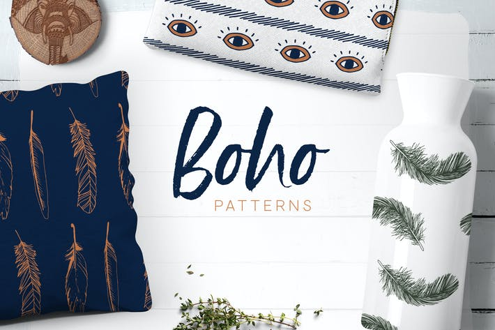 Thumbnail for Boho Patterns Collection
