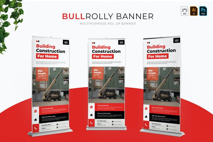 Thumbnail for Bullrolly | Roll Up Banner