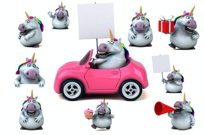Thumbnail for 10 fun Unicorns !
