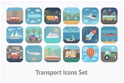 Transport App Icons