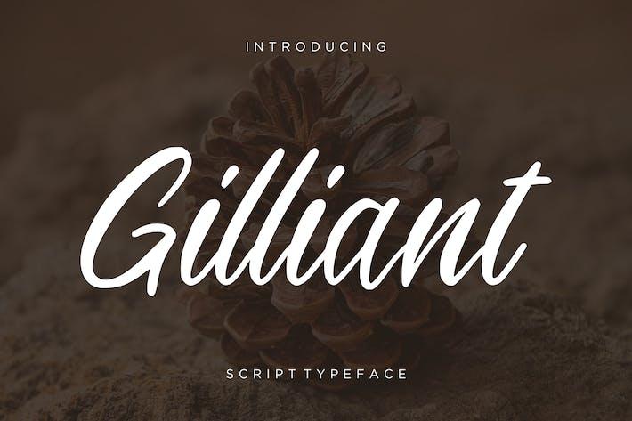 Thumbnail for Gilliant Script Typeface
