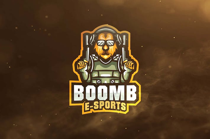 Thumbnail for Boom Sport and Esports Logos