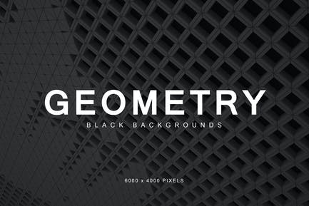 Black Geometry Backgrounds 2