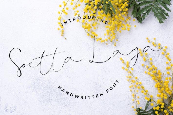 Thumbnail for Soetta Laga - Handwriteen Script