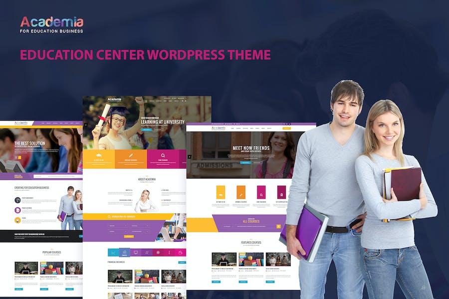 Academia - Centro de Educación WordPress Tema