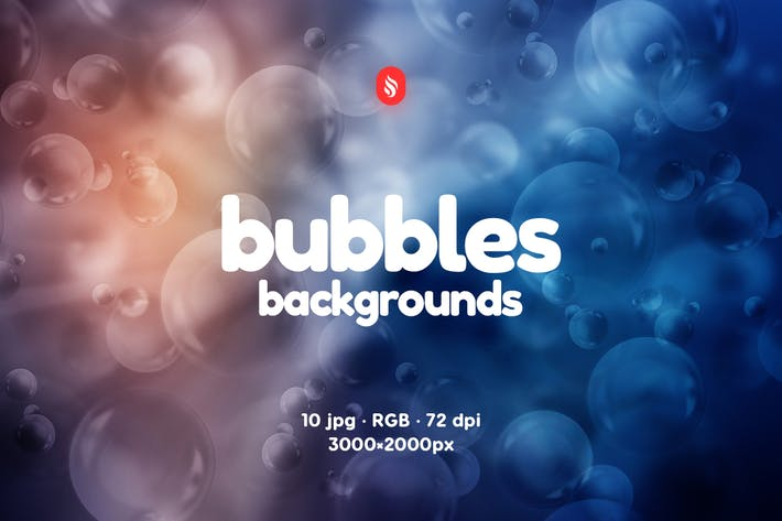Thumbnail for Water Bubbles Backgrounds