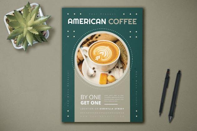 American Coffee - Flyer