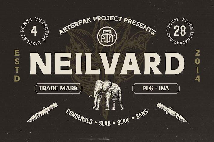 Thumbnail for Neilvard - Jeu de polices