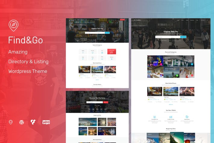 Thumbnail for Findgo - Directory Listing WordPress Theme