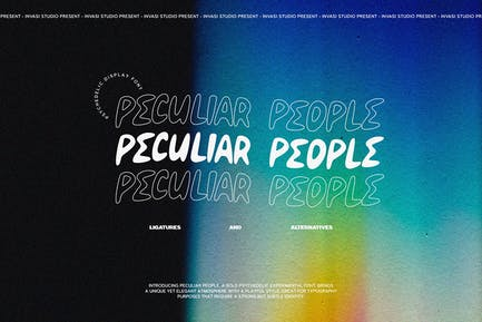 Peculiar People - Psychedelic