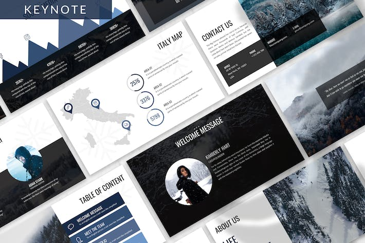 Thumbnail for Winbreeze - Business Keynote Template