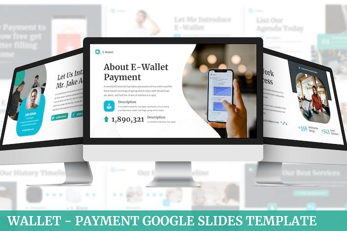 Wallet - Payment Google Slides Template