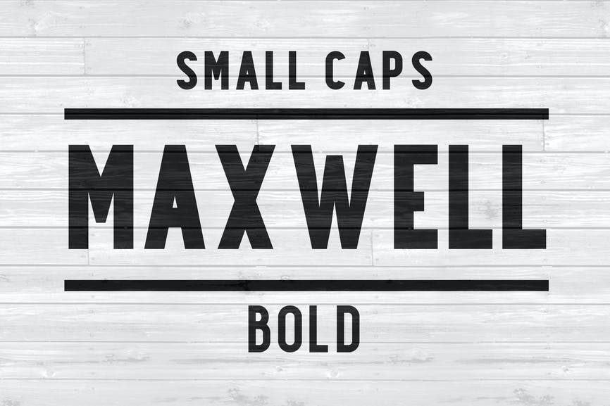 Maxwell-Sans