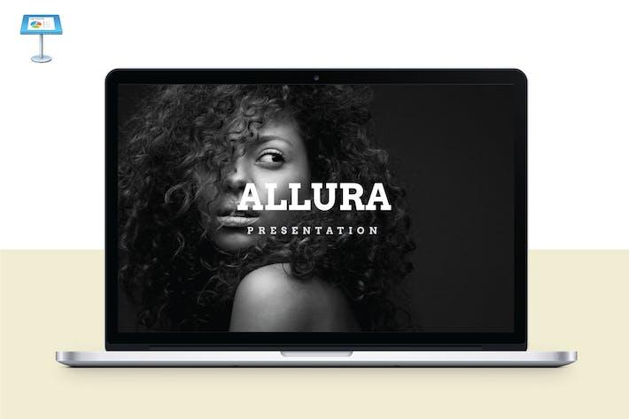 Thumbnail for ALLURA - Multipurpose Keynote Template V55