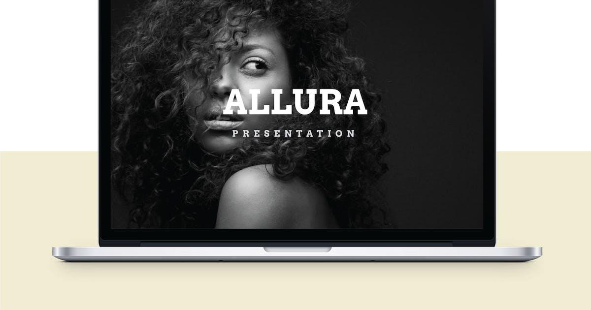 Download ALLURA - Multipurpose Keynote Template V55 by Shafura