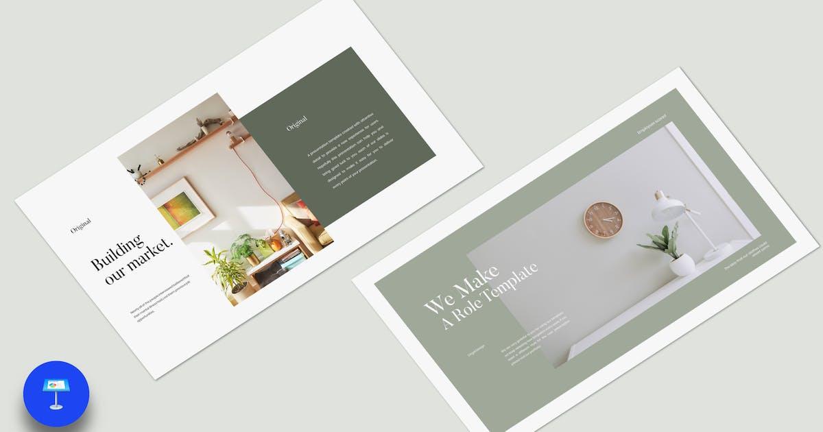 Download Original Interior Keynote Template - JJ by templatehere