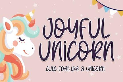 Joyful Unicorn Font