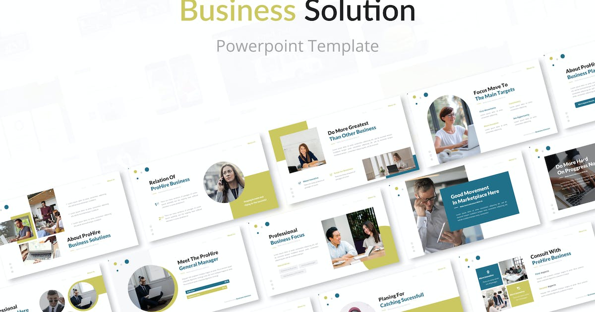 Download Business Solution Powerpoint Presentation Template by elmous
