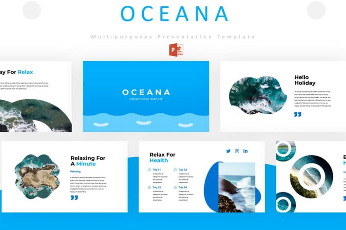 Thumbnail for Oceana - Powerpoint Template