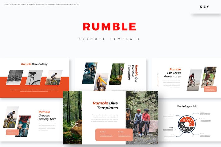 Cover Image For Rumble - Keynote Template
