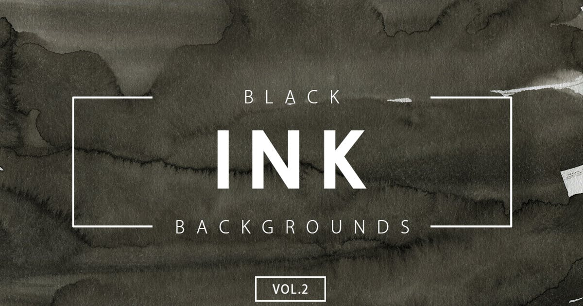 Download Black Ink Backgrounds Vol.2 by M-e-f