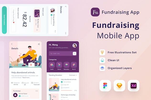 Fundraising Mobile App