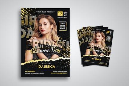 Female DJ Flyer