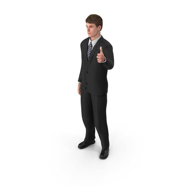 Thumbnail for Businessman John Thumbs Up