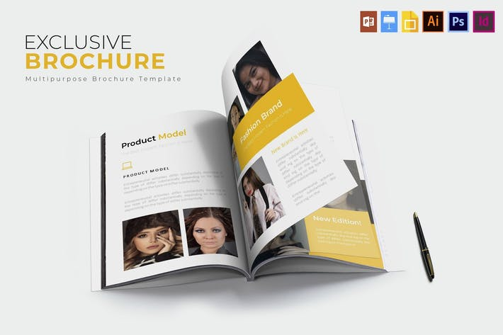 Thumbnail for Exclusive | Brochure Template