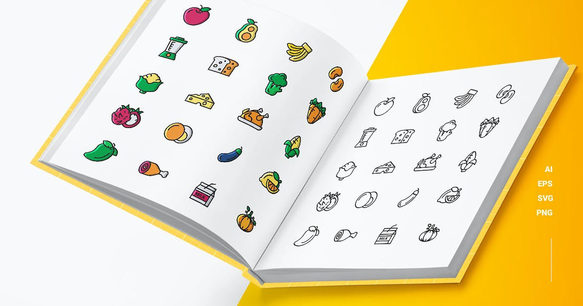 Download Nutrition - Icons by esensifiksi
