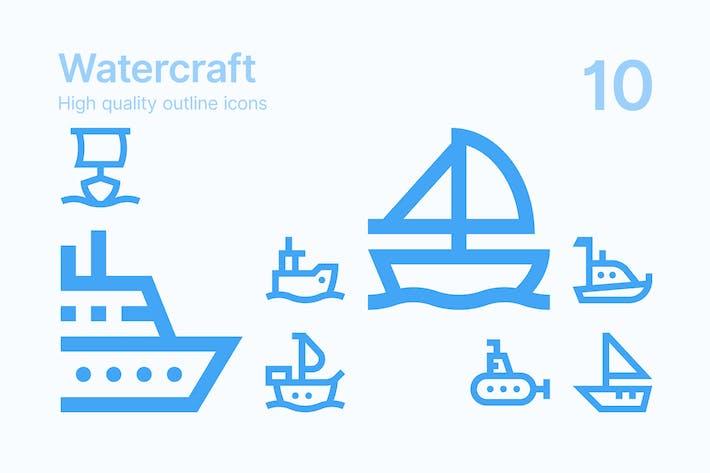 Watercraft Icons