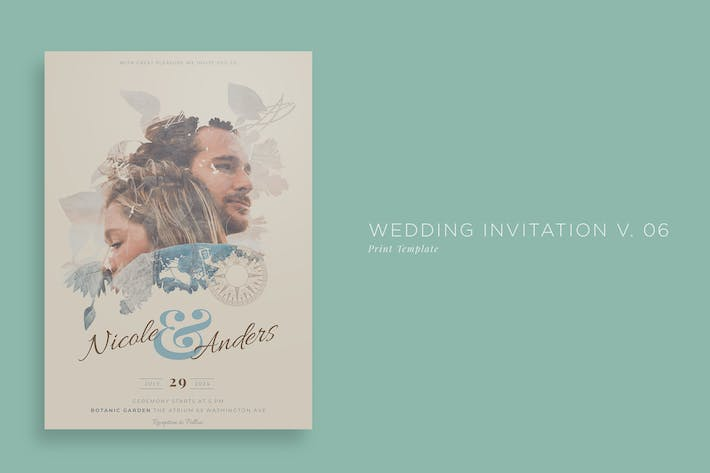 Wedding Invitation V06