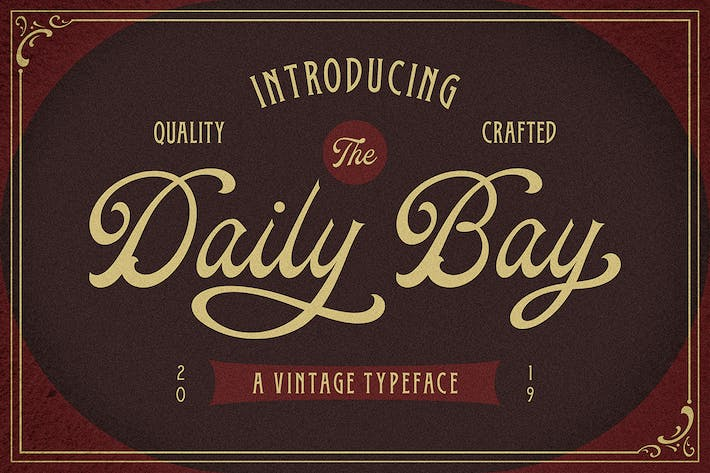Thumbnail for Daily Bay Font Duo + Extras