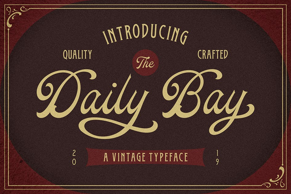 Download Daily Bay Font Duo + Extras by MartypeCo