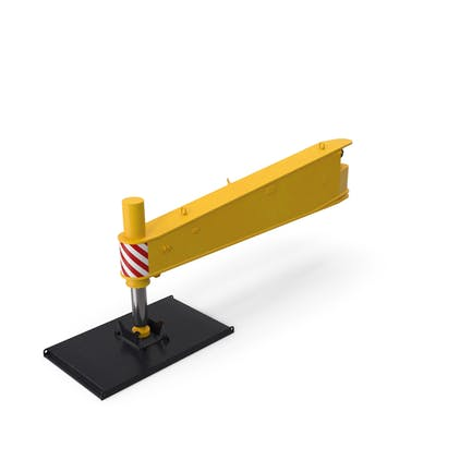 Crane Outrigger Large Yellow
