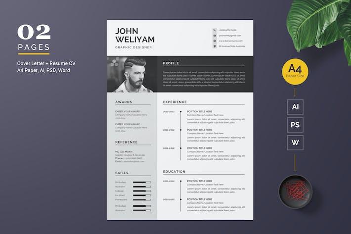 Thumbnail for Modern Resume Template