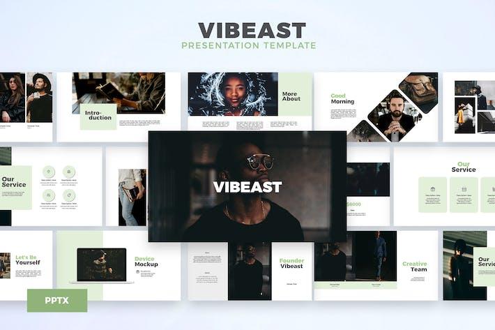 Thumbnail for Vibeast - Шаблон Powerpoint