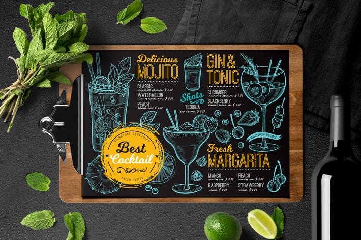 Thumbnail for Cocktail Bar Menu