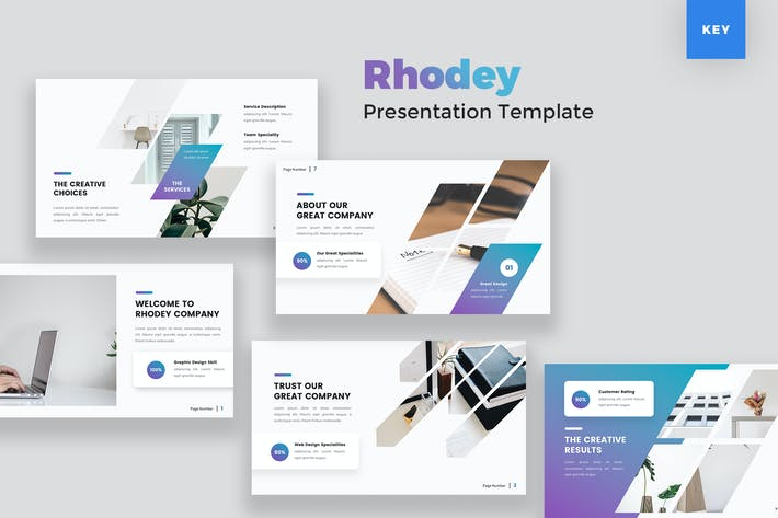 Creative Modern Keynote Template