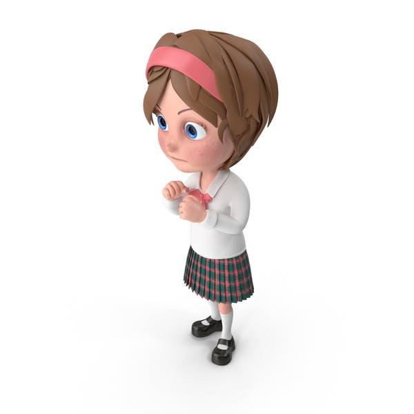 Thumbnail for Cartoon Girl Guarding
