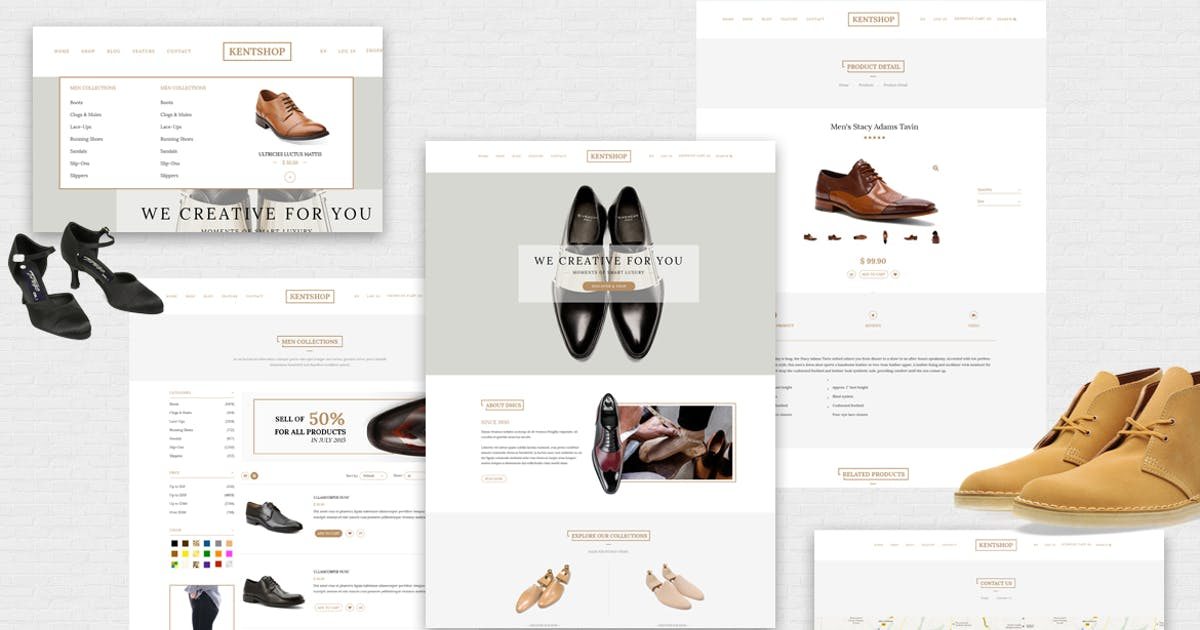 Download Kentshop - Ecommerce PSD Template by Unknow